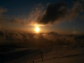 Soare ce apune la Ranca